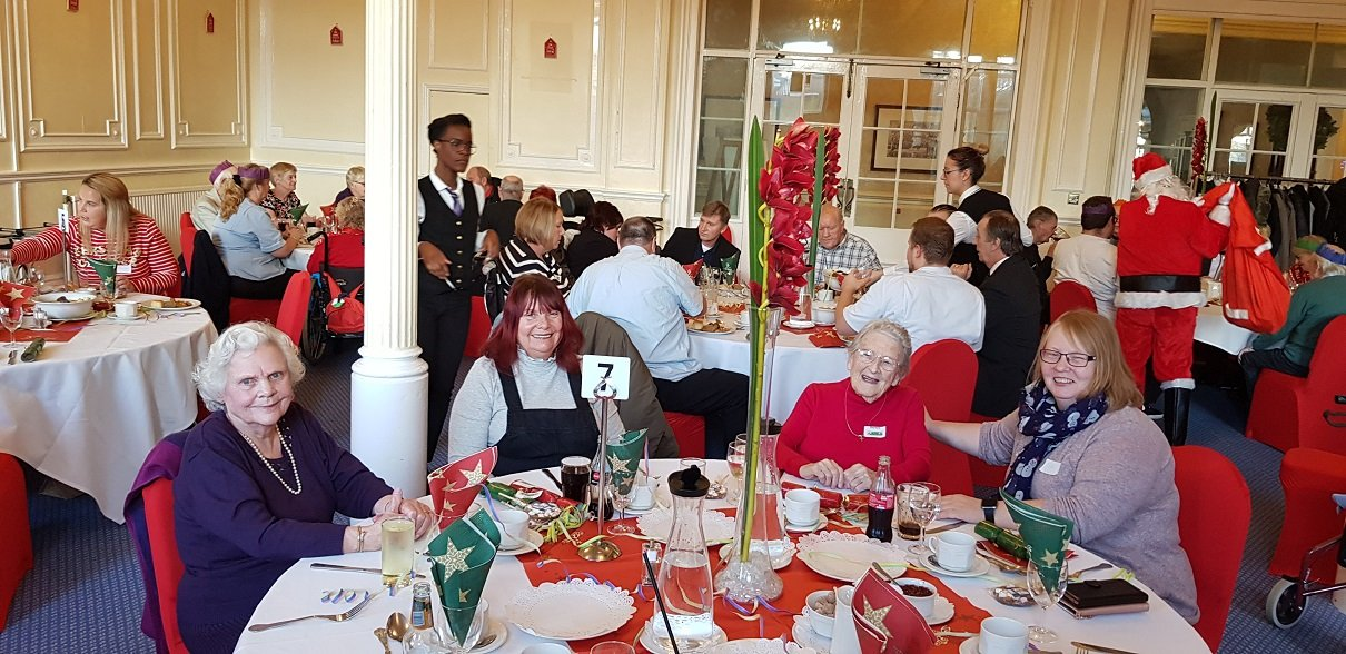 A wonderful time at the Continued Care Christmas lunch