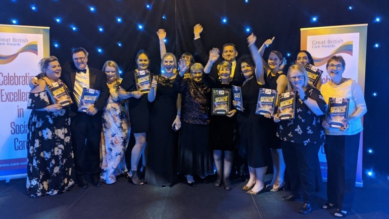 Continued Care wins Best Home Care Employer Award