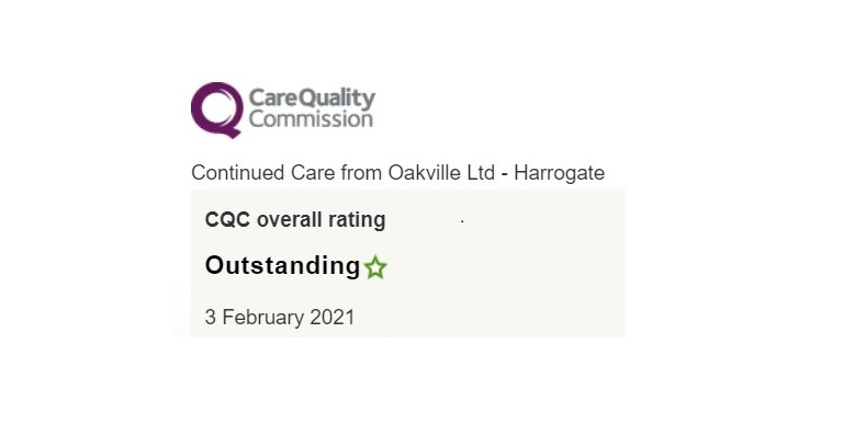 Outstanding CQC home care Harrogate
