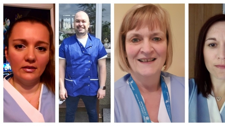 Welcoming new faces to our home care team
