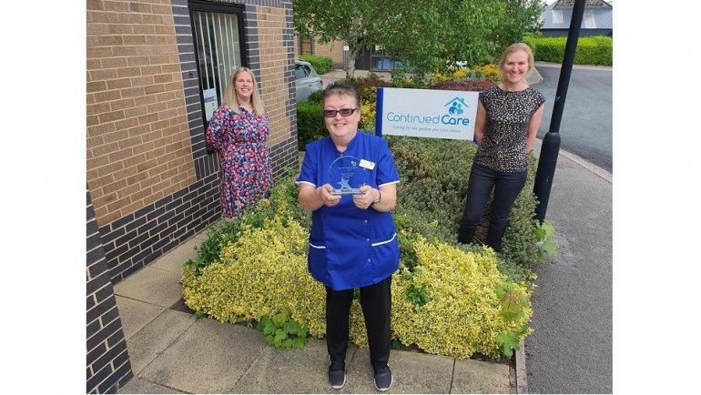 Award wins for our amazing home carers